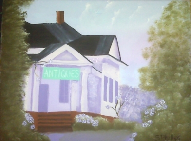 Acrylic Antique House