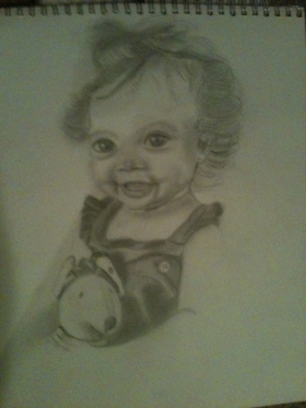 Image 4 SkyeBear Pencil 2011 11 x 14